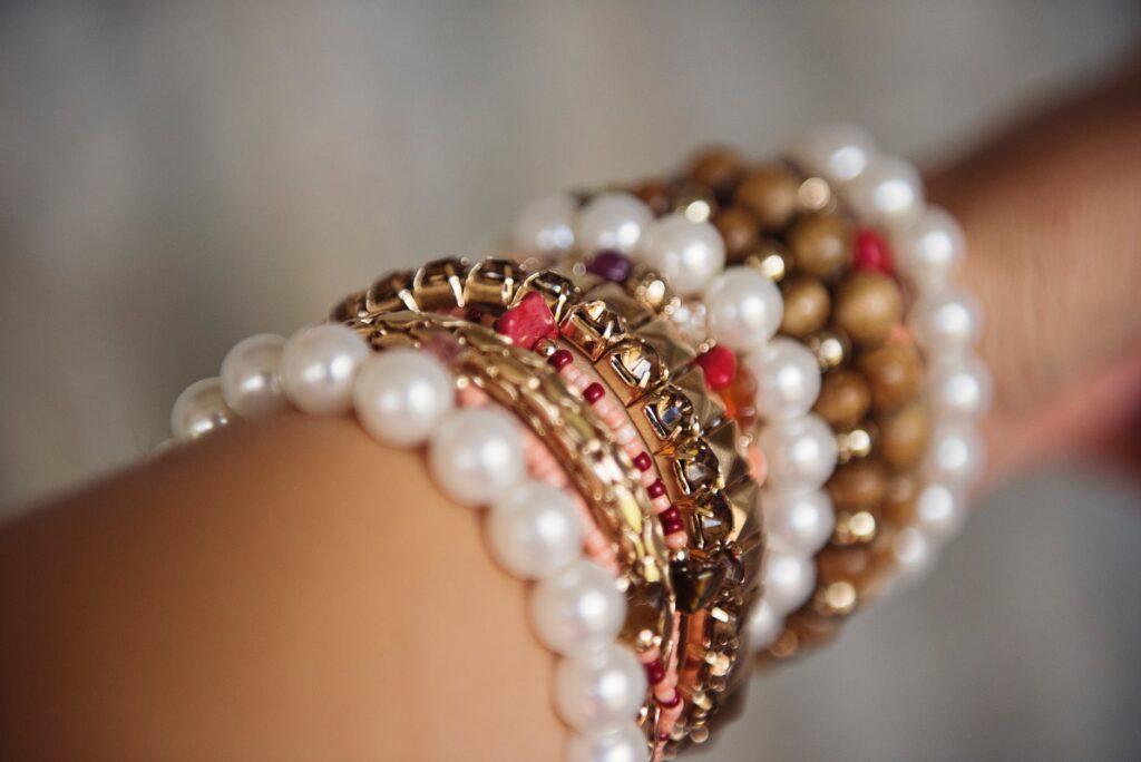 bransoletka damska z pereł